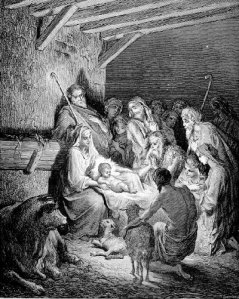 The Natviity, by Gustave Dore